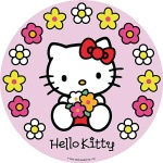 Jedilna hostija Hello Kitty 02
