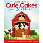 Knjiga - Debbie Brown's Cute Cakes for Children, Debbie Brown